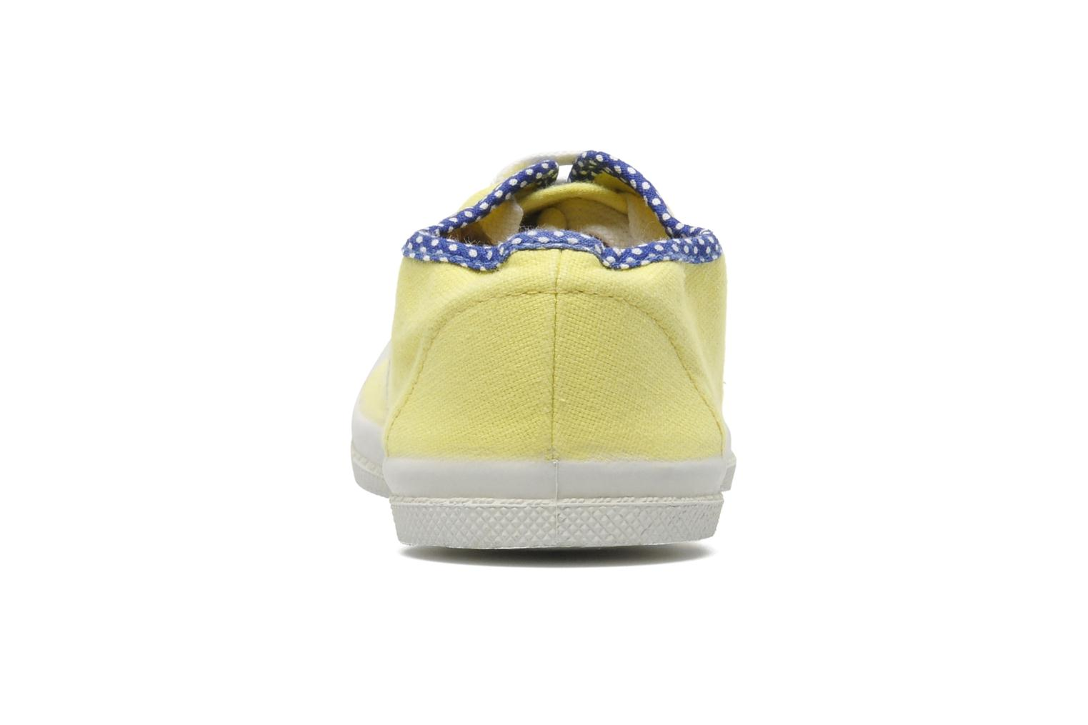 Trainers Bensimon Tennis Colorpois E Yellow view from the right