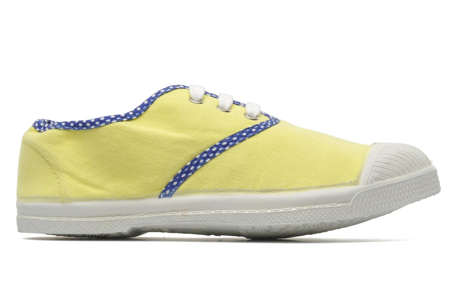 Trainers Bensimon Tennis Colorpois E Yellow back view
