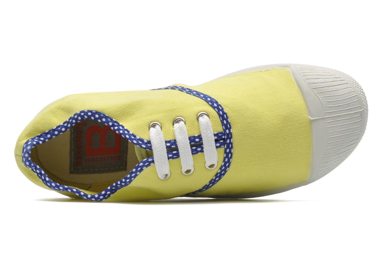 Sneakers Bensimon Tennis Colorpois E Giallo immagine sinistra