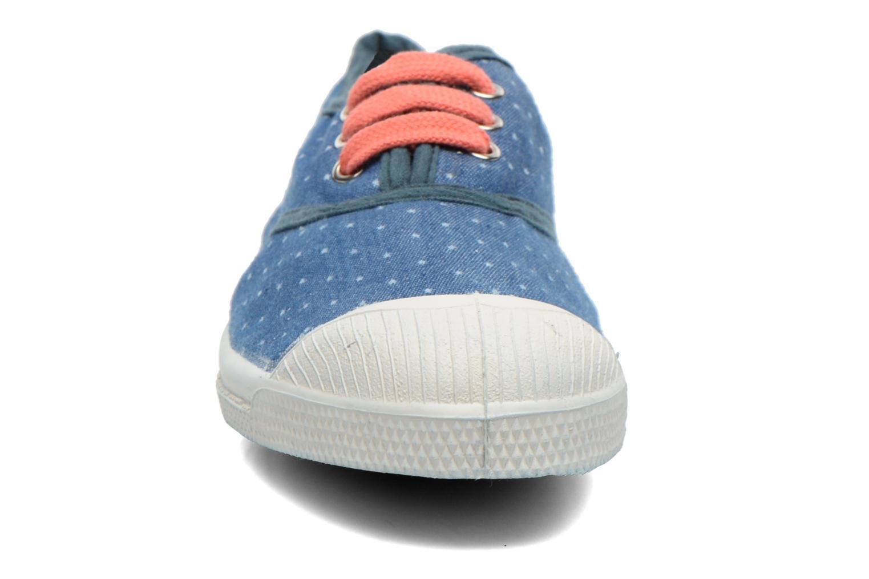 Baskets Bensimon Tennis Etoile E Bleu vue portées chaussures