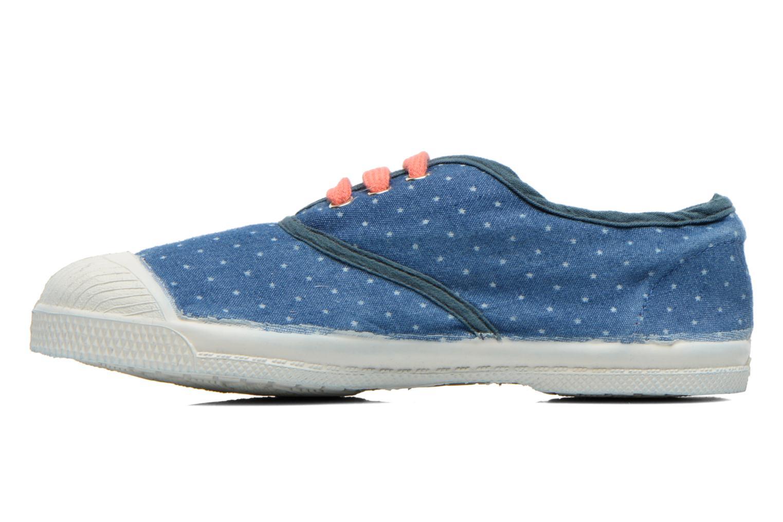 Baskets Bensimon Tennis Etoile E Bleu vue face