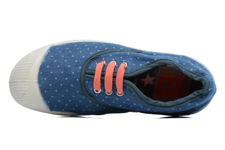 Baskets Bensimon Tennis Etoile E Bleu vue gauche