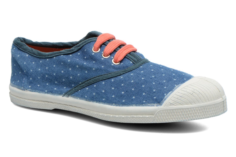 Baskets Bensimon Tennis Etoile E Bleu vue détail/paire