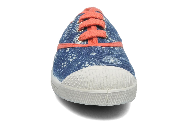Sneaker Bensimon Tennis Bandanas E blau schuhe getragen