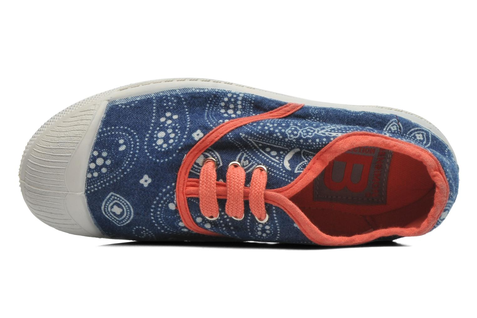 Trainers Bensimon Tennis Bandanas E Blue view from the left