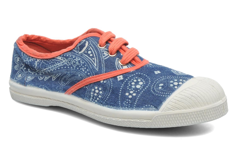 Sneaker Bensimon Tennis Bandanas E blau detaillierte ansicht/modell