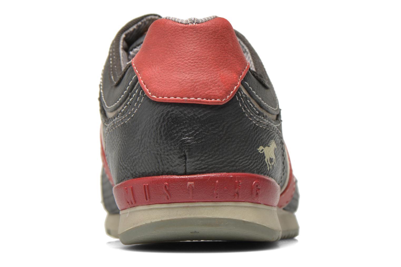 Sneaker Mustang shoes Maoam grau ansicht von rechts
