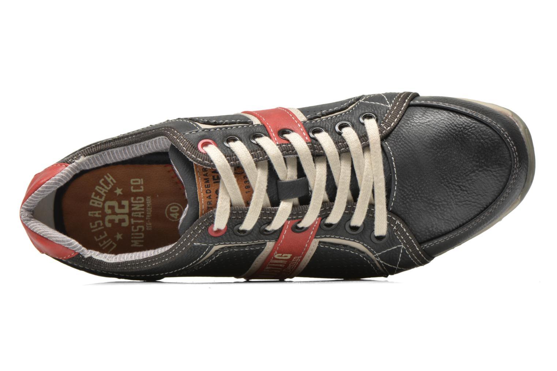 Sneaker Mustang shoes Maoam grau ansicht von links