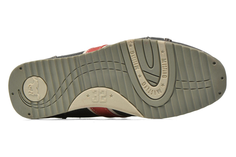 Sneaker Mustang shoes Maoam grau ansicht von oben