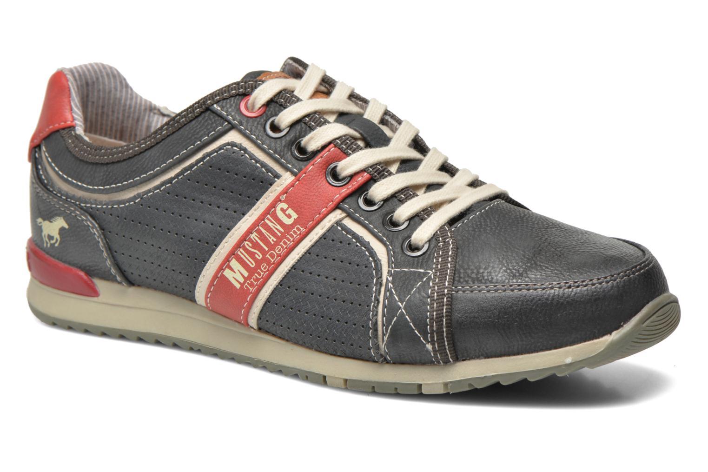 Baskets Mustang shoes Maoam Gris vue détail/paire