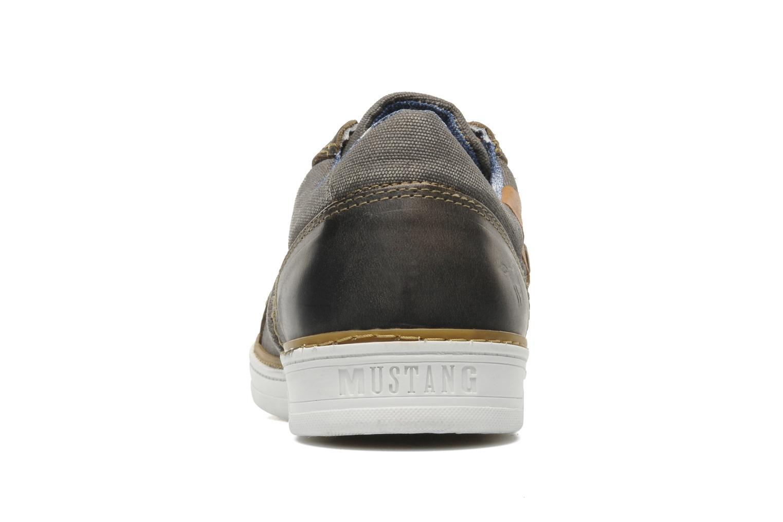 Baskets Mustang shoes Gilyx Gris vue droite