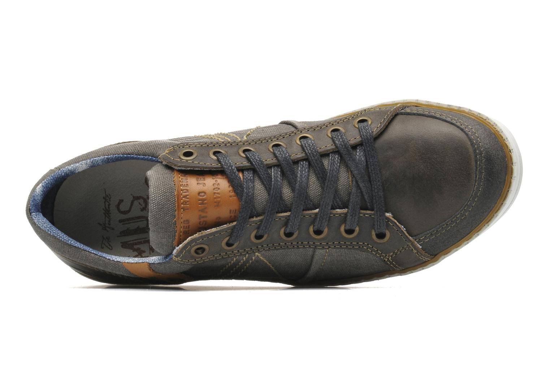 Sneakers Mustang shoes Gilyx Grijs links