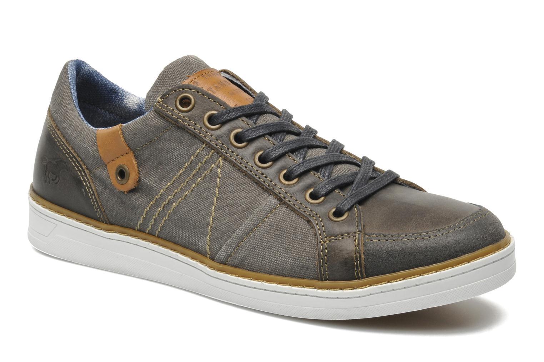 Baskets Mustang shoes Gilyx Gris vue détail/paire