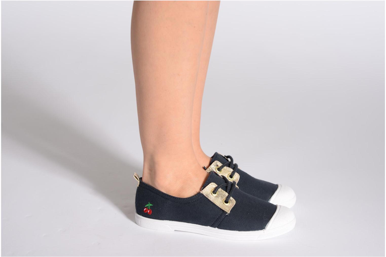 Sneakers Le temps des cerises Basic 02 Fancy Grijs onder