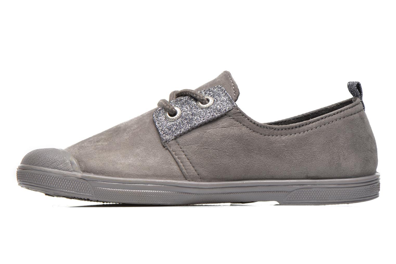 Sneakers Le temps des cerises Basic 02 Fancy Grijs voorkant
