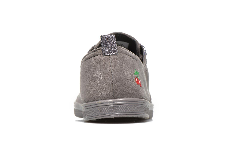 Sneakers Le temps des cerises Basic 02 Fancy Grijs rechts