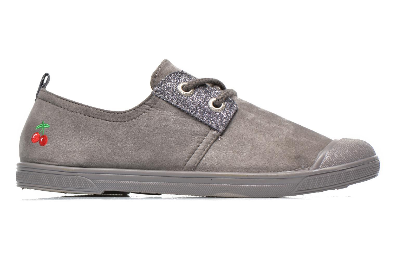 Sneakers Le temps des cerises Basic 02 Fancy Grijs achterkant