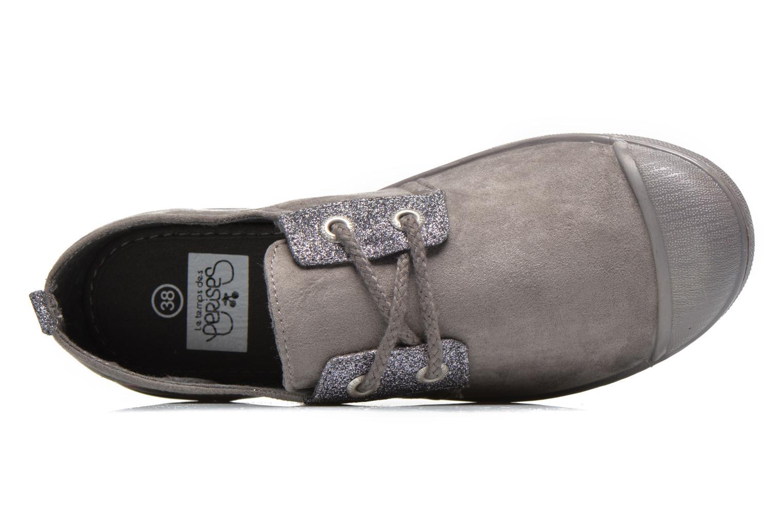 Sneakers Le temps des cerises Basic 02 Fancy Grijs links