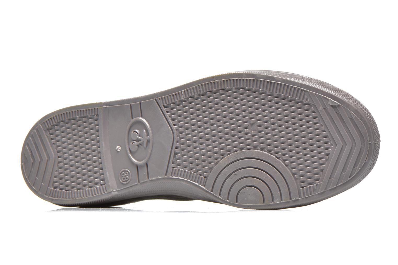Sneakers Le temps des cerises Basic 02 Fancy Grijs boven