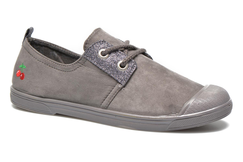 Sneakers Le temps des cerises Basic 02 Fancy Grijs detail