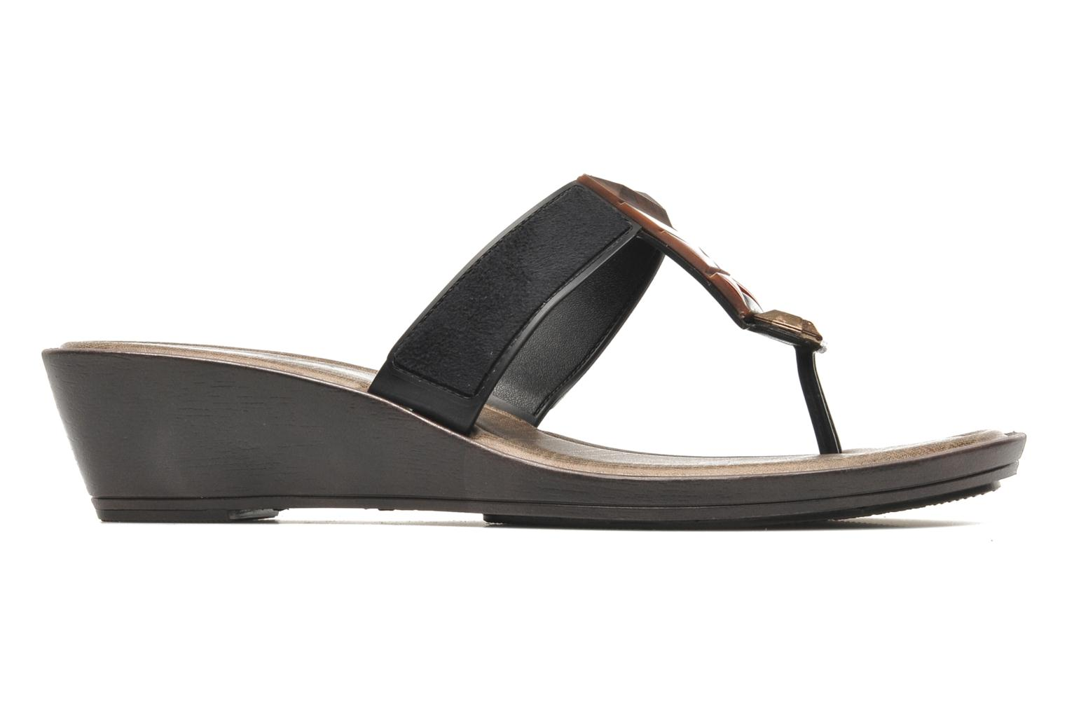 Tesouros Wedge Brown Black Beige