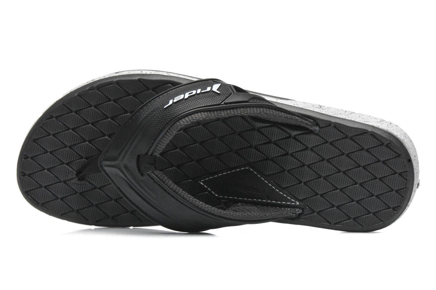 Slippers Rider Next Zwart links