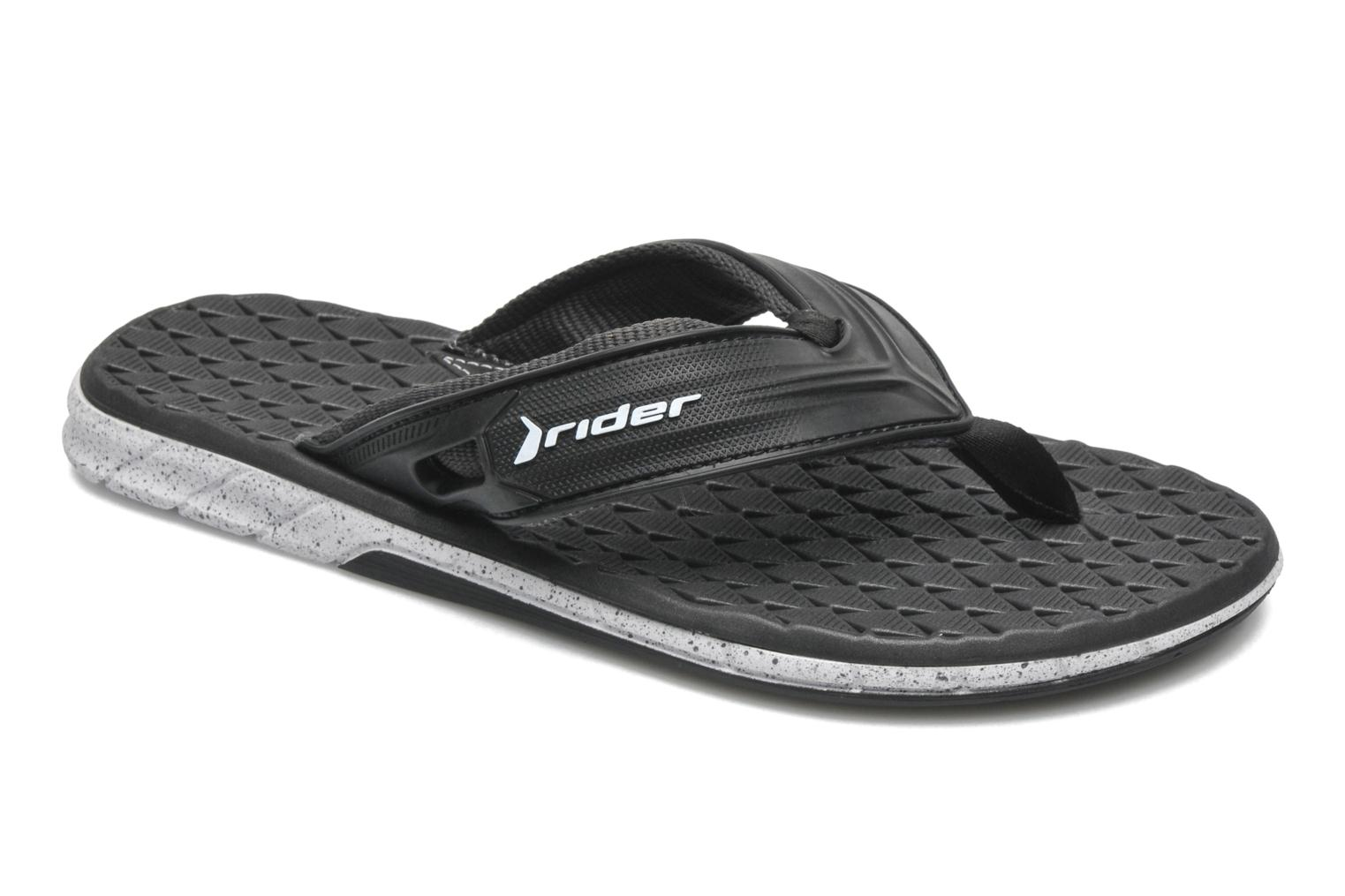 Slippers Rider Next Zwart detail