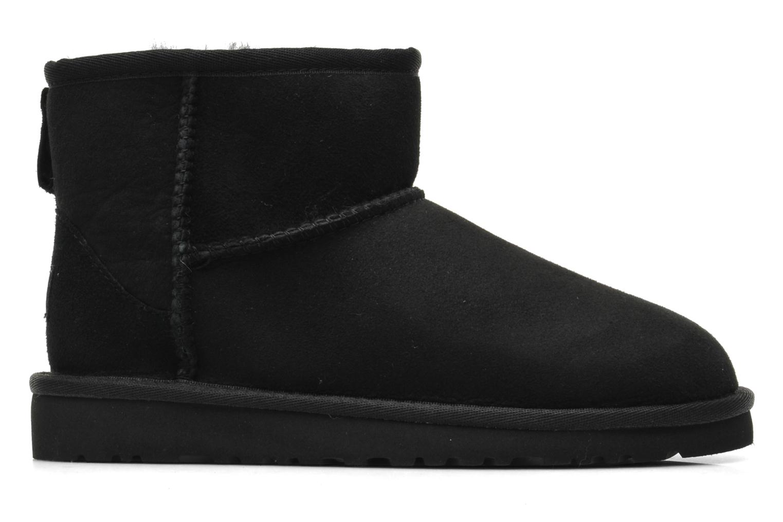 Stiefeletten & Boots UGG K CLASSIC MINI schwarz ansicht von hinten