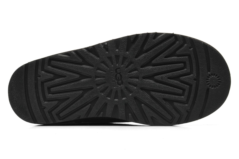 Stiefeletten & Boots UGG K CLASSIC MINI schwarz ansicht von oben