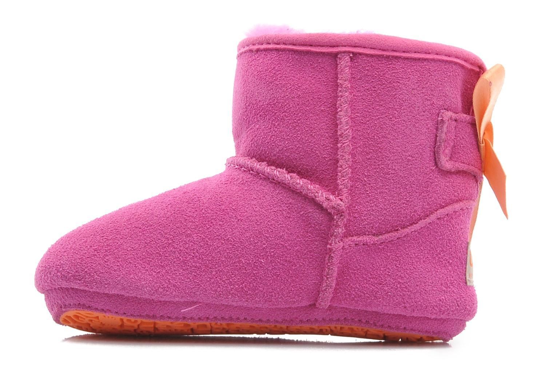 Stiefeletten & Boots UGG I JESSE BOW rosa ansicht von vorne