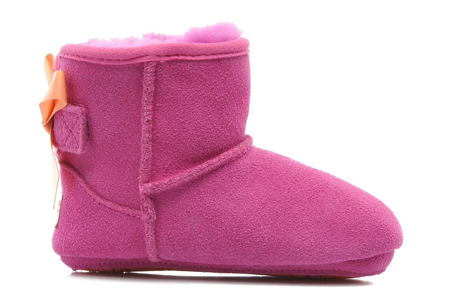 Ankle boots UGG I JESSE BOW Pink back view