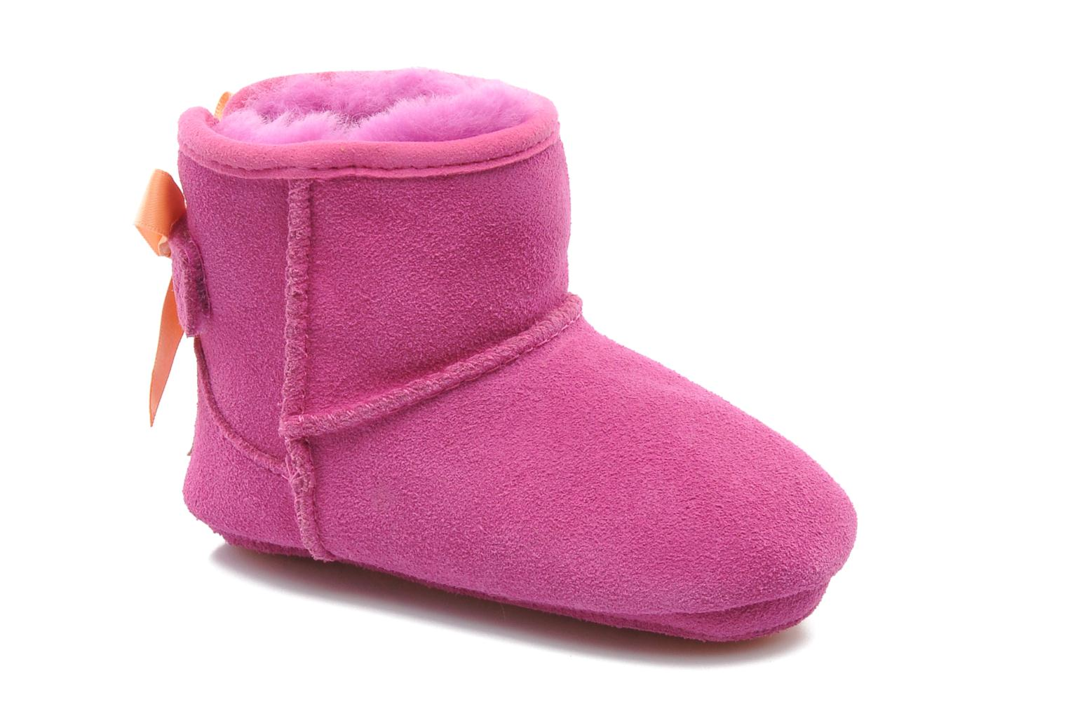 Ankle boots UGG I JESSE BOW Pink detailed view/ Pair view