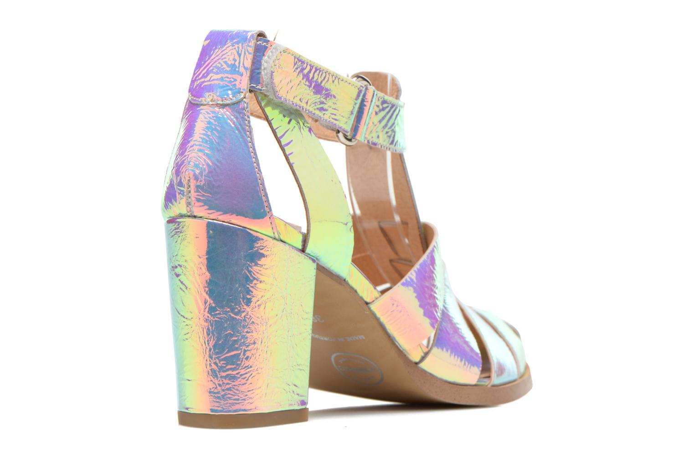 Sandales et nu-pieds Made by SARENZA Menthe Hello #2 Multicolore vue face