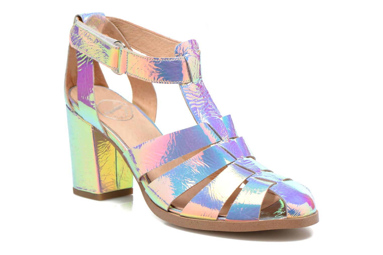 Sandales et nu-pieds Made by SARENZA Menthe Hello #2 Multicolore vue droite