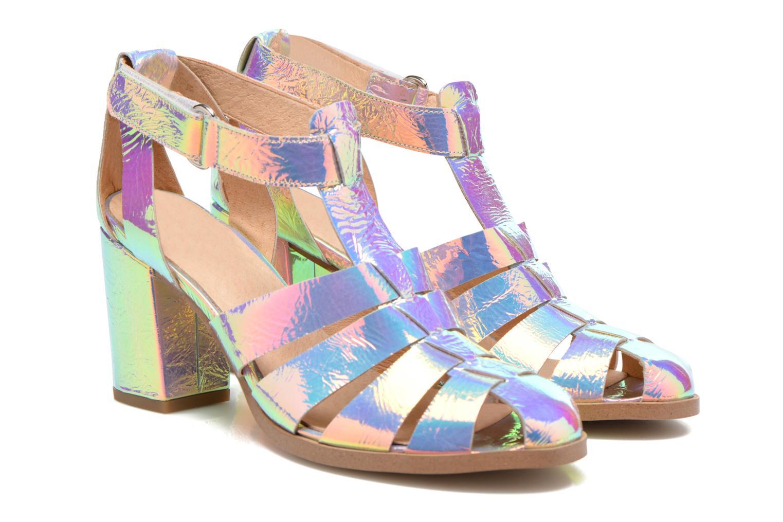 Sandales et nu-pieds Made by SARENZA Menthe Hello #2 Multicolore vue derrière