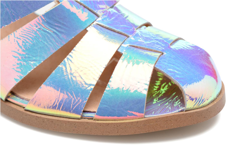 Sandales et nu-pieds Made by SARENZA Menthe Hello #2 Multicolore vue gauche