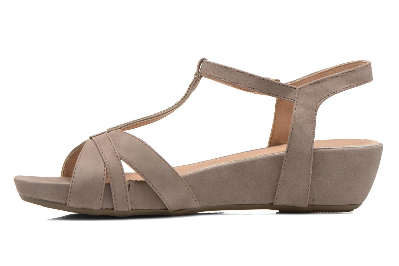 Sandalen Refresh Talla-60574 braun ansicht von vorne