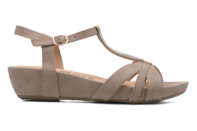 Sandalen Refresh Talla-60574 braun ansicht von hinten