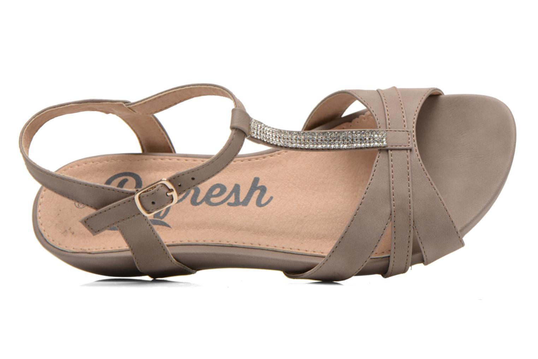 Sandalen Refresh Talla-60574 braun ansicht von links