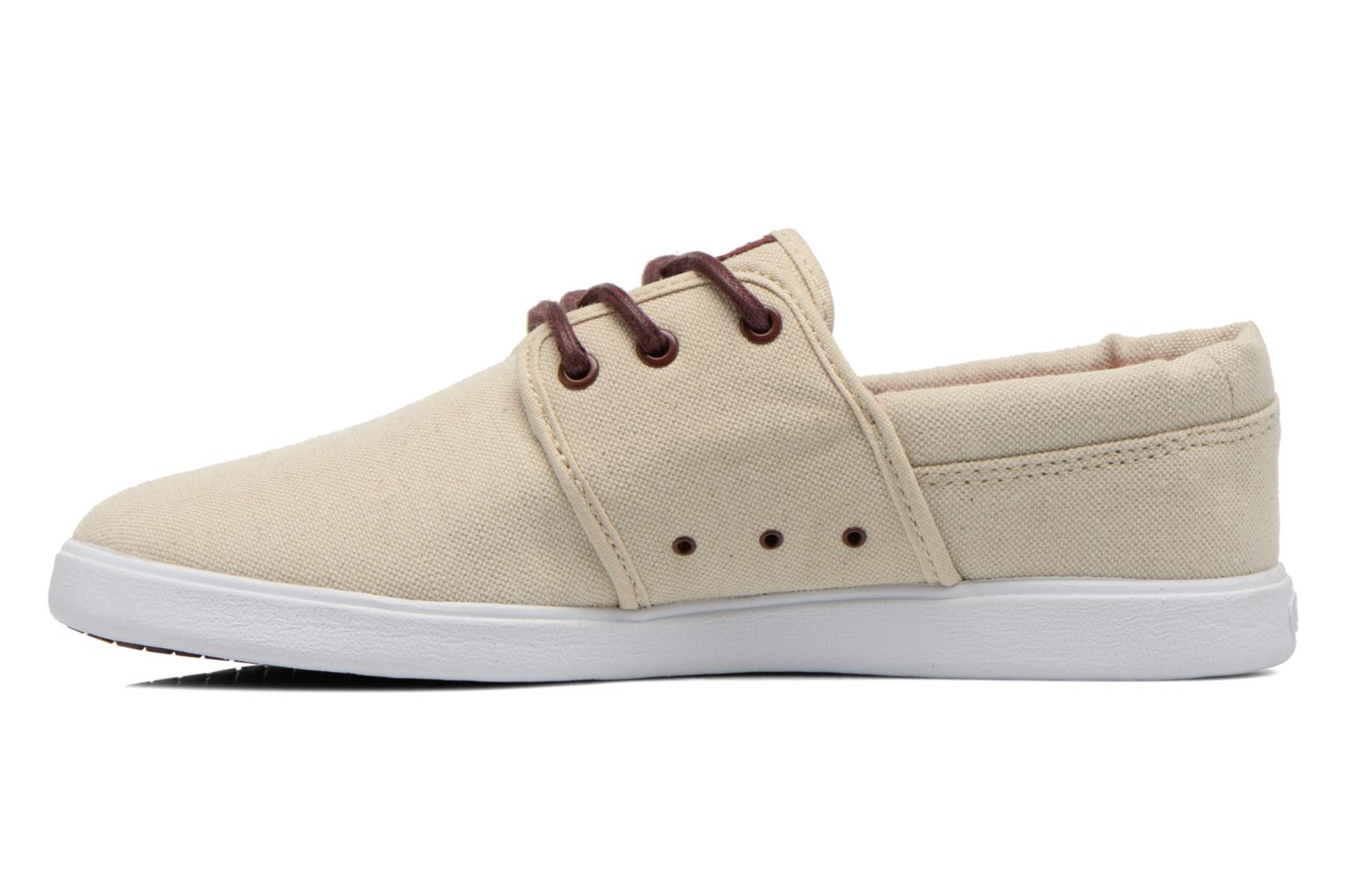 Baskets DC Shoes Haven Tx Se Beige vue face