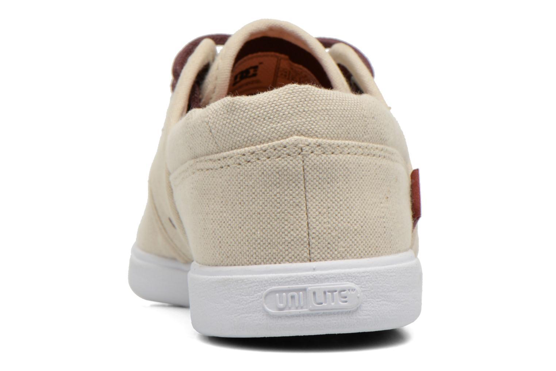 Baskets DC Shoes Haven Tx Se Beige vue droite