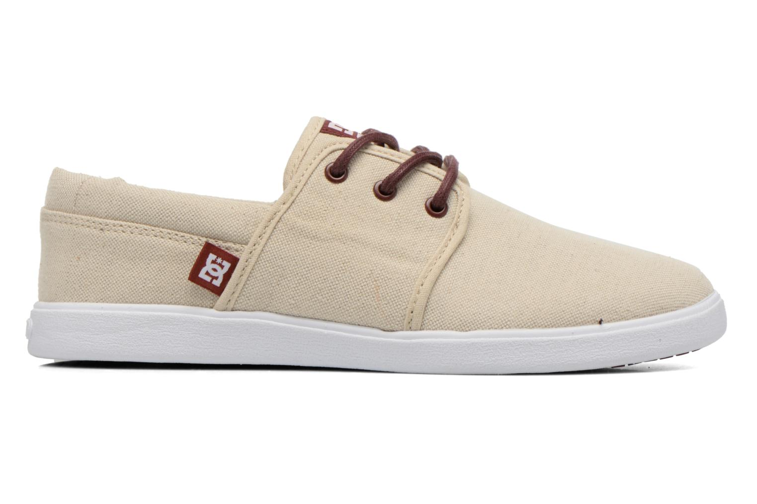 Baskets DC Shoes Haven Tx Se Beige vue derrière