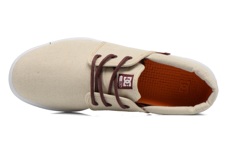 Sneaker DC Shoes Haven Tx Se beige ansicht von links