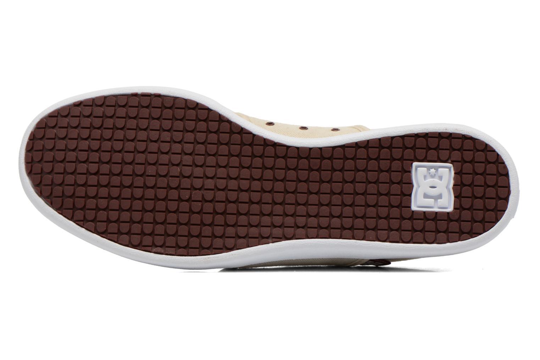 Sneaker DC Shoes Haven Tx Se beige ansicht von oben