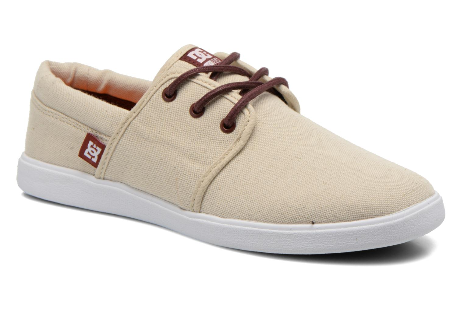 Baskets DC Shoes Haven Tx Se Beige vue détail/paire