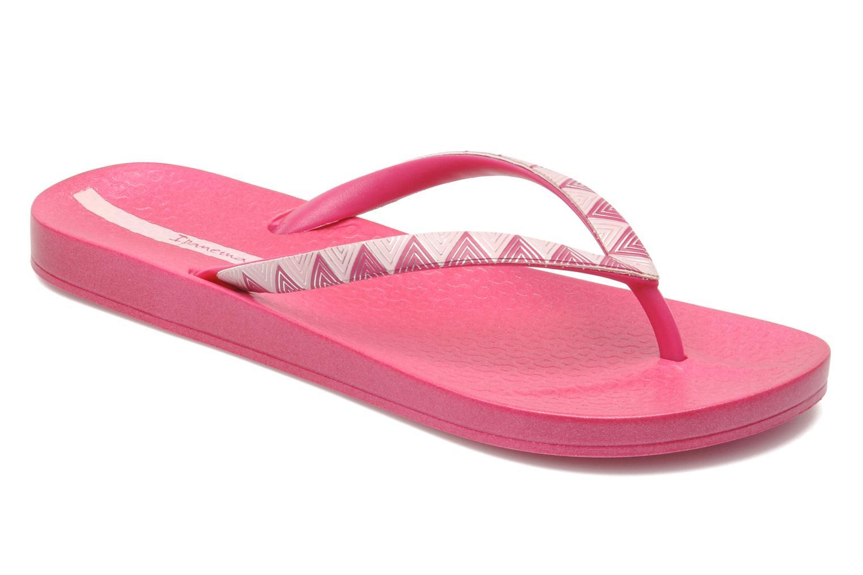 Slippers Ipanema Metalic III Roze detail