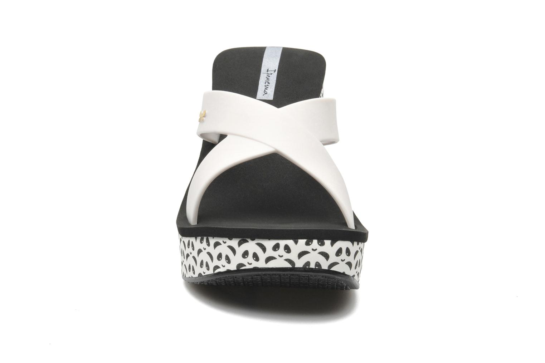 Clogs & Pantoletten Ipanema Lipstick Straps weiß schuhe getragen