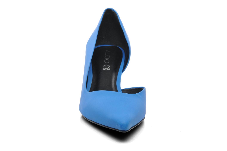 Escarpins Aldo Barlas Bleu vue portées chaussures