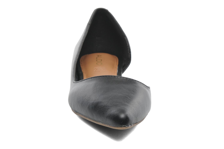 Ballerines Aldo Dealia Noir vue portées chaussures
