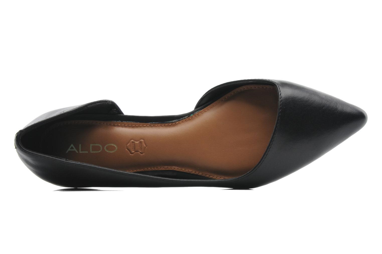 Ballerinas Aldo Dealia schwarz ansicht von links